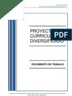Proyecto Curricular Diversificado 4