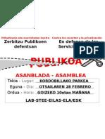 Kartel Asanblada Kordobilla Kol Ots 2012