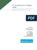 California 2015 Serialization & e-Pedigree Strategic Planning Guide