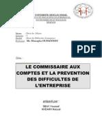 Le ire Aux Comptes Et La Prevention
