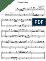 [Free com Platti Giovanni Benedetto Sonata Prima 32436