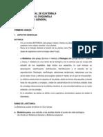BOTÁNICA DOC. 1 UNIDAD 1