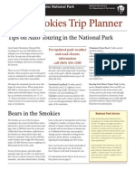 2011 Trip Planner Revise Smoky Mountains