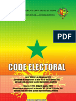 Code Electoral du Sénégal 2012
