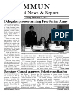 MMUN World News and Report Issue 4