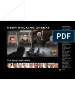 KEEP WALKING GREEKS