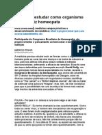 É Preciso Estudar Como Organismo Se Cura, Diz Homeopata - Medicina Preventiva