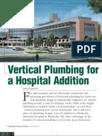 Hospital Vertical Plumbing