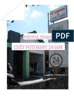 Proposal Bisnis Fotocopy Cozy