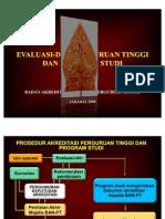 Pedoman Evaluasi-Diri [2008 160509 Pres]
