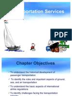 Int Tourism Ch 03 Transportation Services