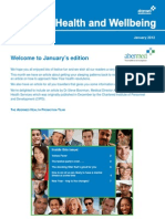 Abermed Health and Wellbeing Issue 15 January 2012
