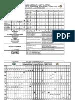 Calendarios y Cronogramas 2012