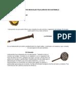 Instrumentos Musicales Folkloricos de Guatemala