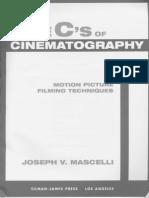 The Five Cs Of Cinematography Pdf