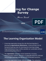 Learning for Change Survey