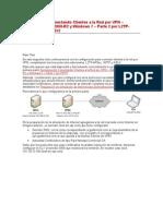 Demostración Conectando Clientes a la Red por VP1