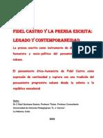 Fidel y La Prena Escrita. Legado y Contemporaneidad