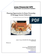 Azran Financial Whitepaper - Tax Opportunities in Home Ownership & Mortgage Interest Deductions