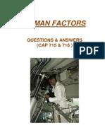 Module 9 Human Factors Q&A