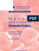 Manual de Hemoderivados