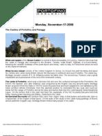 The Castles of Portofino Italy
