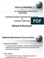 Chapter 1 - Introduction to Network Business