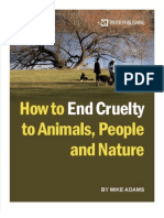 How to End Cruelty to Animals People and Nature