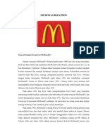 McDonaldization Indonesian)