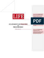 LIFE Policy and Procedures Reviewed By MLM Advocate Troy Dooly