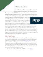 William Faulkne Biography