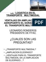Logistica en El Transporte Multi Modal (1)