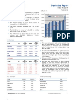 Derivatives Report 23rd February 2012
