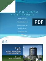 Bank for International Settlement