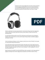 Bahaya Penggunaan Headset
