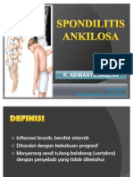 SPONDILITIS ANKILOSA 2012