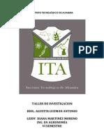 INTRODUCCIÓN AL CULTIVO DE TILAPIA