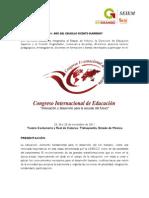 Convocatoria de Congreso Internacional