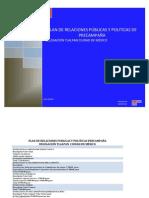 POLITICAL-PLAN DE RELACIONES PUBLICAS Y POLITICAS PRECAMPAÑA