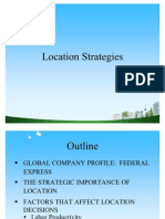 Location Strategies PPT @ BEC DOMS