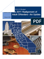 2011 Realignment of Adult Offenders 022212