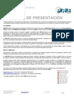 Carta Presentacion Desarrollo