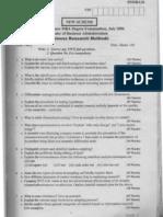 business researchbrm-jul-06