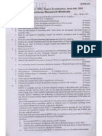 business research -jul-09