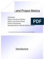 Process and Project Metrics.