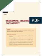 Programme Strategic Management