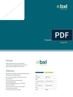 BXL Brand Guidelines 2008