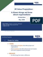 HR Value Proposition Ulrich