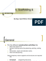 Form Works and Scaffoldings