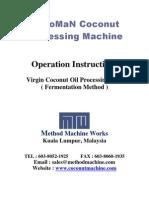 VCO Fermentation Method Manual
